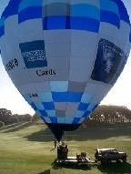 Advertising on a hot air balloon New Zealand